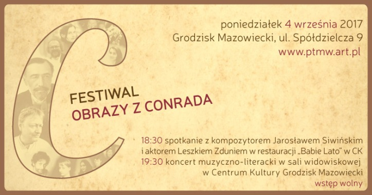 """Festiwal """"Obrazy z Conrada"""" [04.09.2017]"""