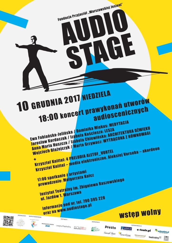 Audio Stage 2017 - plakat